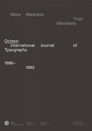 Octavo - More Madness Than Manifesto