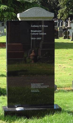 Anthony H Wilson gravestone