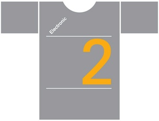 Electronic T-Shirt for Record Store Day (Grey)