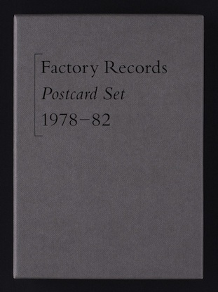 Factory Records Postcard Set 1978-82