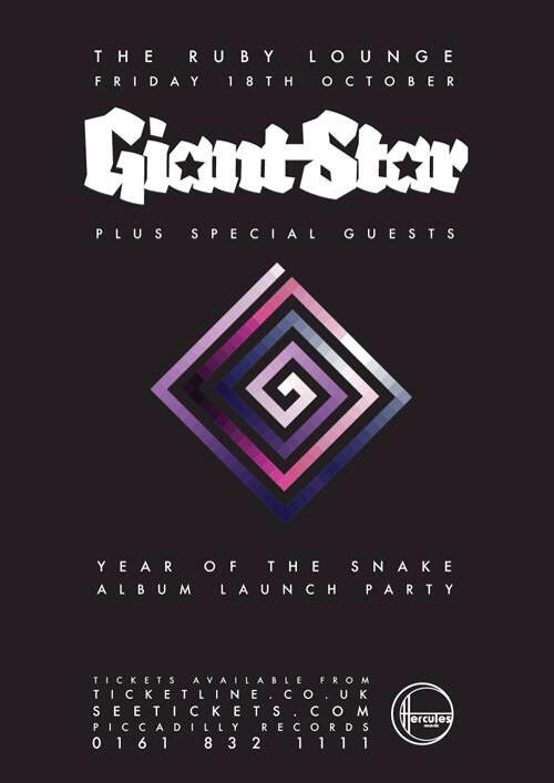 Year of the Snake album launch party @ The Ruby Lounge Manchester 18 October 2013