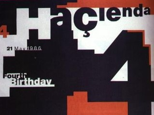 FAC 51 The Haçienda - Fourth Birthday poster