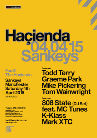 Hacienda Easter 2015 @ Sankeys, Manchester