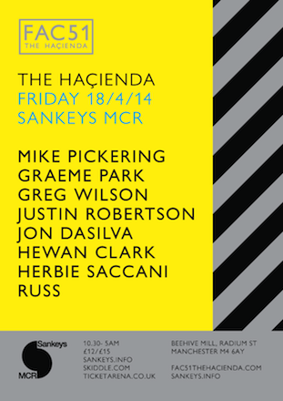 FAC 51 The Haçienda Good Friday 2014 @ Sankeys MCR