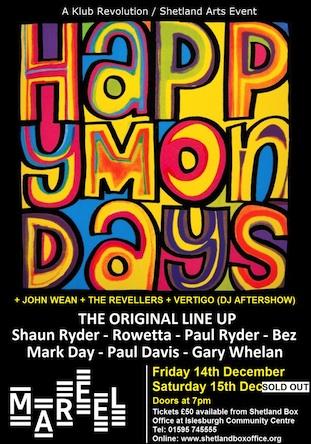 Happy Mondays live in Shetland 2012