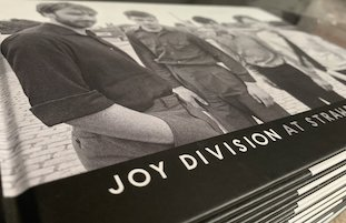 Joy Division at Strawberry Studios by Paul Slattery