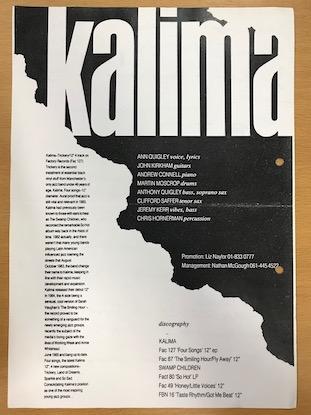 Kalima press release