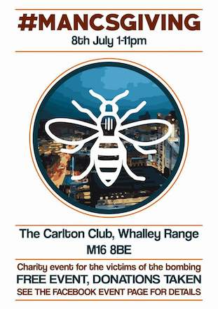 MancsGiving @ The Carlton Club 4 June