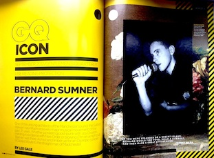 GQ Icon - Bernard Sumner
