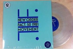 New Order - Movement clear vinyl LP
