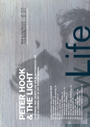 Peter Hook and The Light US Tour 2014
