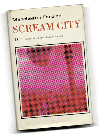 Scream City 2; Haçienda by Peter Walsh front cover test