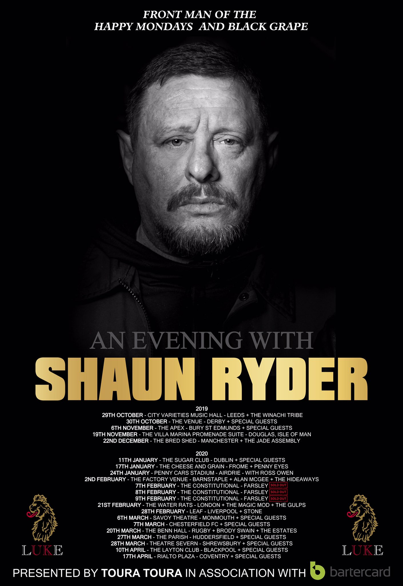 Evenings with Shaun Ryder