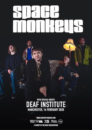 Space Monkeys live at Deaf Institute, Manchester 14 Feb 2020