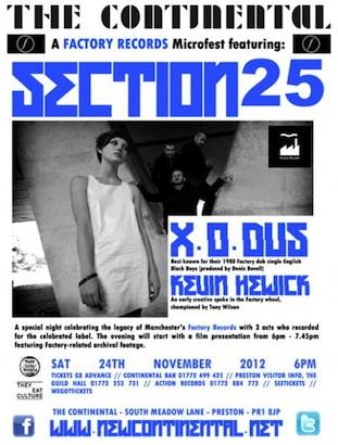 SXXV, X.O.Dus, Kevin Hewick live in Preston