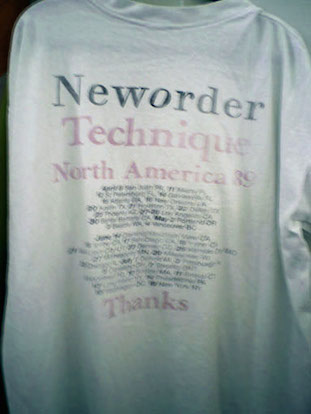 New Order - USA 89 T-Shirt