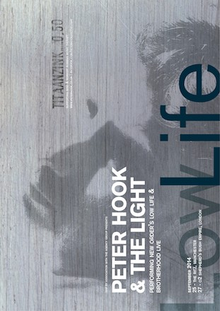 Peter Hook and The Light UK Tour 2014 Low-life and Brotherhood