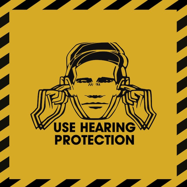 Use Hearing Protection FAC 1-50 / 40 exhibition @ Chelsea Space
