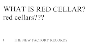 What is Red Cellars?