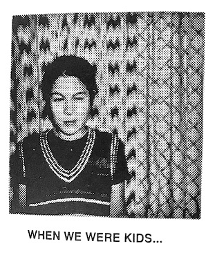 When We Were Kids - photograph by Ed Templeton