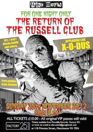 The Return of The Russell Club
