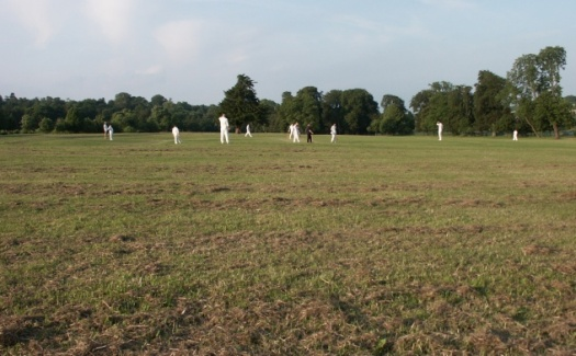 Dodgers v St Andrews, Addington Park, Sunday 6 June 2004 - the spectacularly undulating Addington Park Ground
