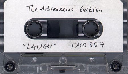 FACD 357 Laugh listening cassette; cassette detail