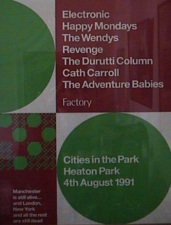 Cities in The Park - Factory day poster