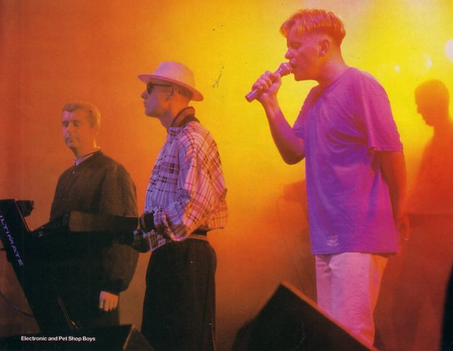 Cities in The Park - Electronic on stage with Neil Tennant and Chris Lowe from Pet Shop Boys