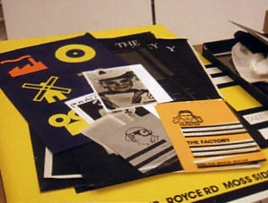 Selection of early works for Factory Records