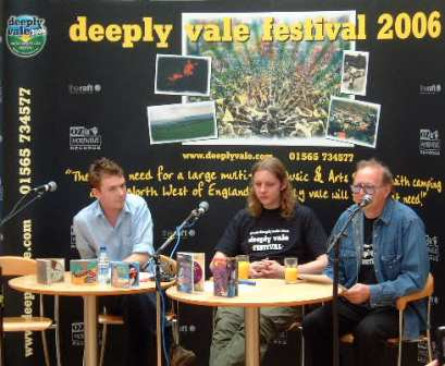 Deeply Vale Festival 2006 press conference