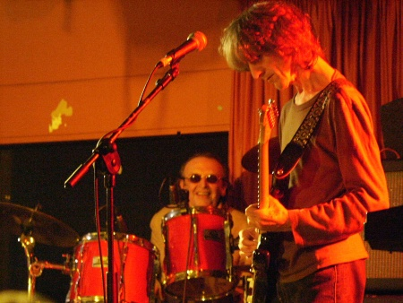 The Durutti Column - Liverpool Academy 2, 8 May 2004; Bruce Mitchell and Vini Reilly