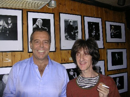 The Durutti Column - Ronnie Scott's, London, 26 September 2004; Andrea Bianco and Vini Reilly
