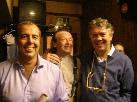 The Durutti Column - Ronnie Scott's, London, 26 September 2004; Andrea Bianco, Bruce Mitchell and Federico