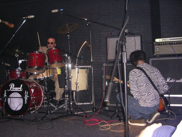 The Durutti Column - Ronnie Scott's, London, 26 September 2004; Bruce Mitchell and Vini Reilly
