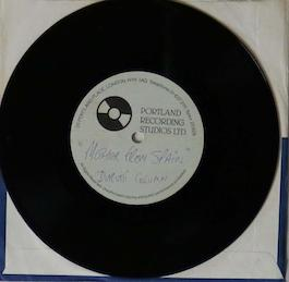 FAC 64 THE DURUTTI COLUMN I Get Along Without You Very Well; test pressing