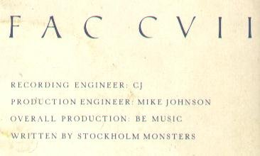 FAC 107 All At Once; back cover detail