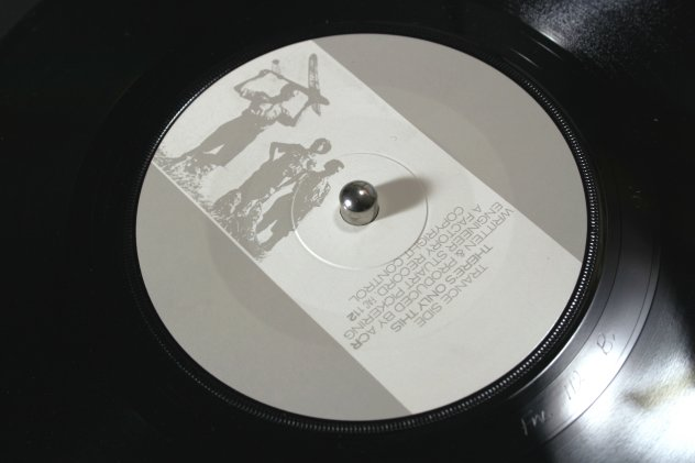 FAC 112 Life's a Scream; label detail [trance side]