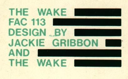 FAC 113 Of The Matter; back cover detail