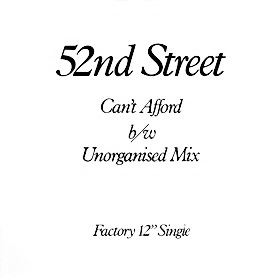 FAC 118 52ND STREET Can't Afford (To Let You Go)