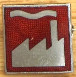 FAC 120 Factory smokestack silhouette logo