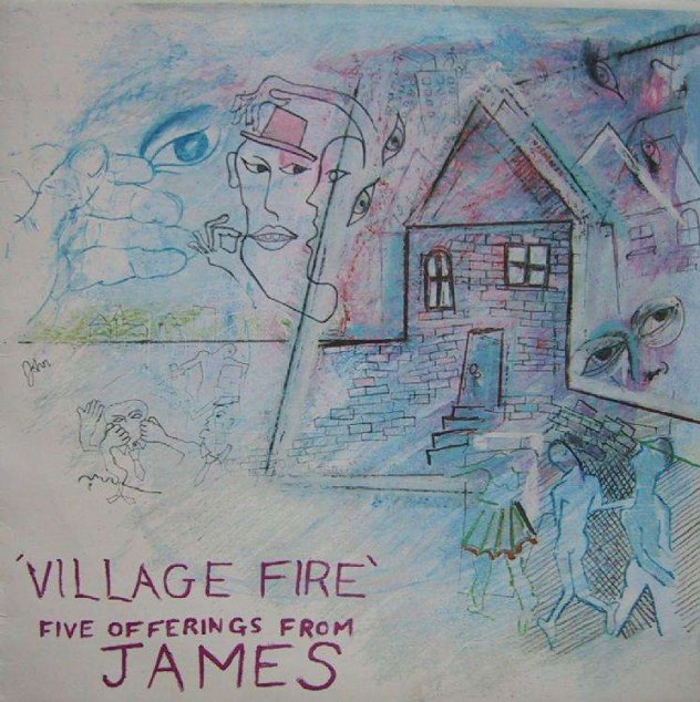 James - FAC 138 Village Fire 12-inch front cover