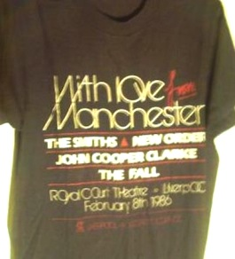 FAC 152 'With Love From Manchester' t-shirt