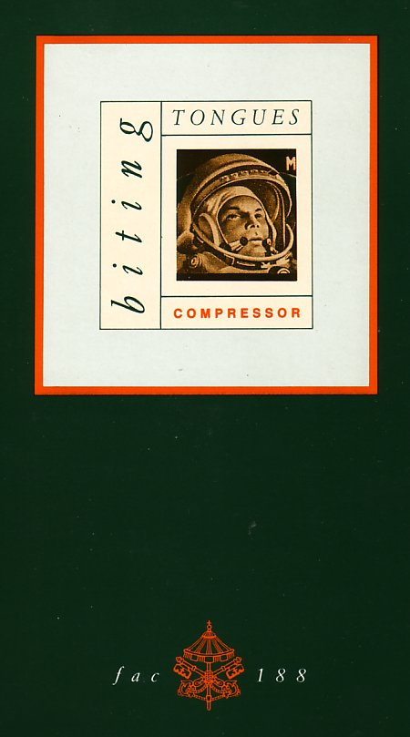 FAC 188 Compressor; front cover detail