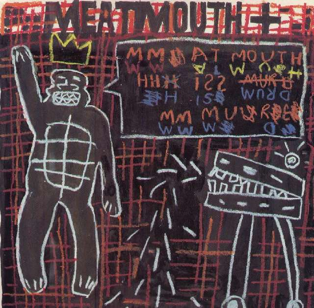 FAC 196 Meat Mouth Is Murder 12-inch front cover
