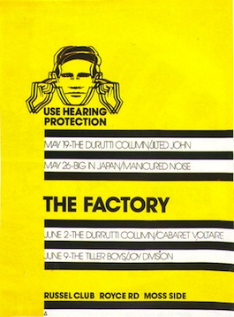 FAC 1 The Factory poster