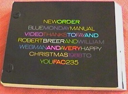 FAC 235 New Order Blue Monday 88 Flickbook