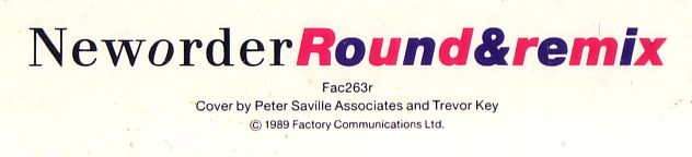 FAC 263r Round & round; back cover detail
