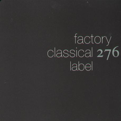 FACD 276 Factory Classical Sampler; front cover detail