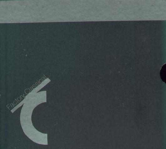 Fac 296 Box set of first 5 Factory Classical CDs; front cover detail